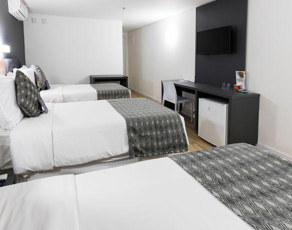 Apto Superior Triplo - 18º Andar - Sibara Hotel