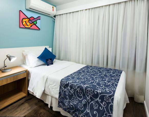 Flat Triplo (Cama de Casal + Cama de Solteiro) - Sibara Hotel