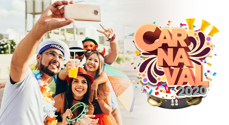 Programação de Carnaval 2020