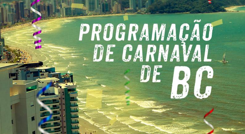 Programação Carnaval de Balneário Camboriú 2019