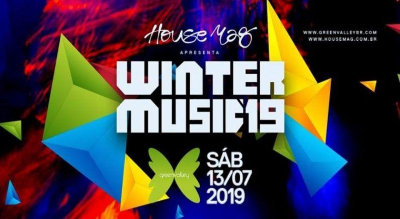 Winter Music Festival terá mais de 40 atrações nacionais e internacionais